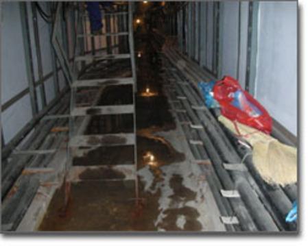 致力于人防地下室,隧道等砖砼结构建筑的渗漏水等