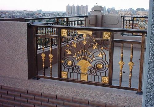 铝艺阳台护栏,纯粹的欧式