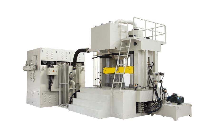 y98系列液压水胀形机-内高压水胀机图片