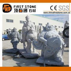 花岗岩西游记人物雕刻