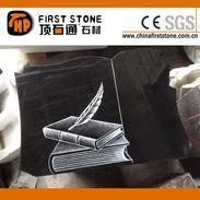 黑色花岗岩墓碑石GME103