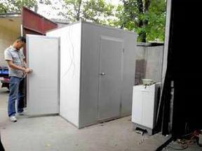 供应QS认证净化彩钢板风淋室