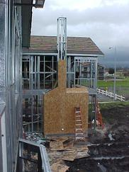 薄壁轻钢住宅 镀锌C型结构 别墅专用 抗震房屋 加工定做