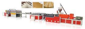 木塑门边线设备 木塑门边线/套线机械