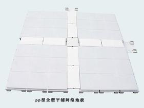 全塑平铺型网络地板