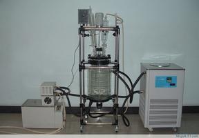 双层玻璃反应釜/双层玻璃反应器西安