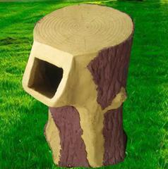 水泥垃圾桶 户外水泥垃圾桶 水泥仿树纹垃圾桶 仿树桩水泥垃圾桶