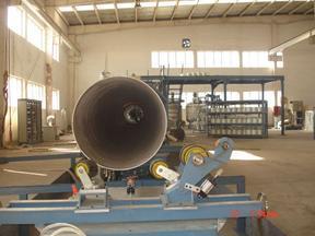 连续缠绕玻璃钢管生产线技术