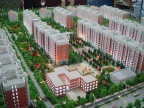 房地产销售模型,北京地产模型,模型