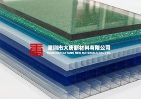 大唐新材实心透明PC采光板