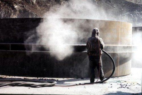 钢结构喷砂除锈防腐公司
