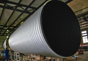 钢塑螺旋复合缠绕排水管
