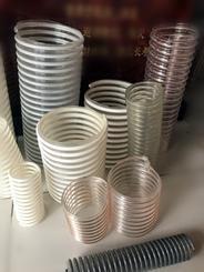 德信木工机械除尘PU钢丝伸缩风管耐磨钢丝缠绕管