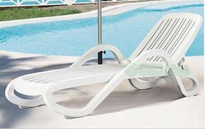 供沙滩,椅休闲椅,藤编躺椅