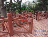 木栈道选用红硬木、红影木、红应木、红铁木比防腐木好