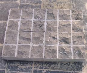 地坪铺装/铺路石/天青石方格地砖FSBL-001