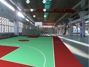 室内网球场施工室内网球场