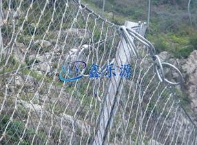 柔性边坡防护网生产厂家哪家好-鑫乐源