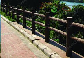 仿木护栏,绿化护栏,河道栏杆,隔离护栏