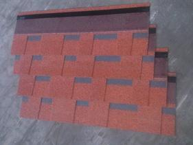 欧耐斯双层中国红玻纤瓦