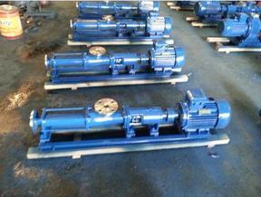 G40-1耐磨耐腐蚀污泥提升压滤螺杆泵