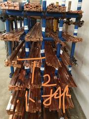 中旺现货销售T2紫铜棒C1100特厚紫铜带