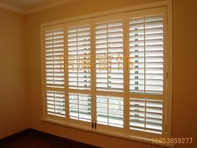 订做实木百叶窗、实木百叶门、衣柜门、百叶隔断、百叶窗帘