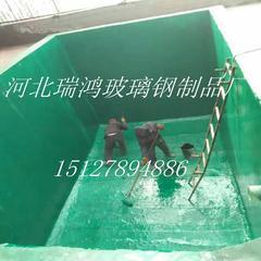 玻璃钢防腐厂家 碳钢罐槽玻璃钢防腐衬里工程