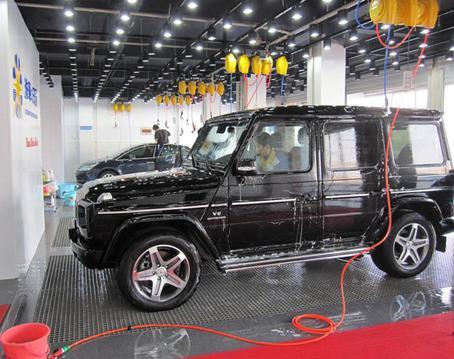 迪洁洗车机电接线图