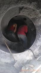 混凝土搅拌车清闷罐工人公司