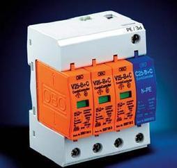 OBO V25-B+C/3+NPE电源防雷器