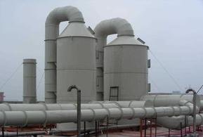 有机废气处理设备-喷淋塔工艺原理|上海怡帆机电