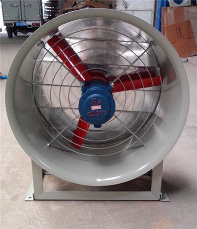 轴流风机壁式管道式带支架安装方式图片