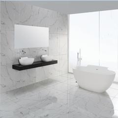 人造石浴缸奢华抗污垢独立式人造石浴缸BS-S18