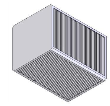 无锡联众广州办-供应平板交叉流热交换芯