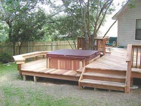 买庭院木材要买防腐木