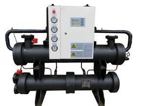 上海哲越涡轮双机头水源地源热泵机组