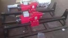 快捷铺管设备水钻顶管机