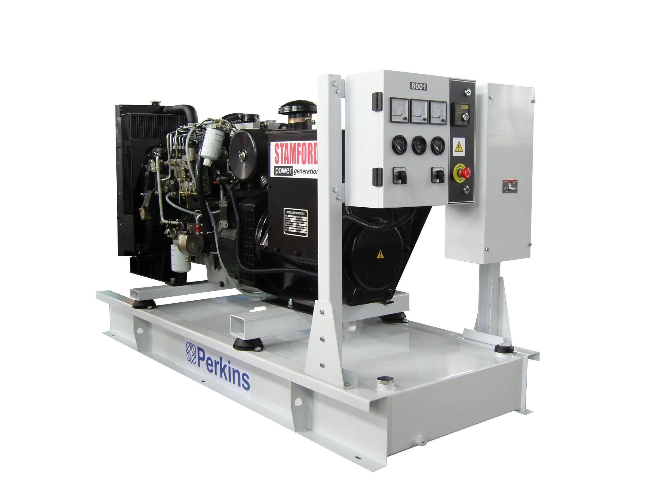 100kw帕金斯柴油发电机组高清图片