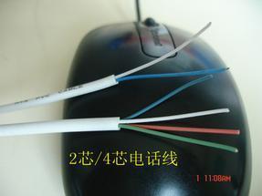 RJ11电话线(整圈不带水晶头)