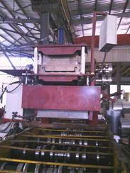 厂家直销铝镁锰430型机器扇形板机器,斜分条机器