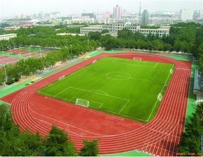 广西人造草足球场|足球场塑胶跑道