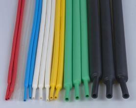 彩色双臂带胶热缩管,透明双壁防水热缩管,汽车防护套管