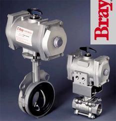 美国进口Bray博雷S90 91气动执行器