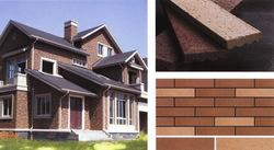 劈开砖、霹离砖、紫砂劈开砖、陶土砖