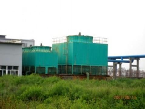 开式冷却塔,玻璃钢方形逆流冷却塔