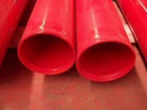 消防涂塑管销售走水用涂塑管