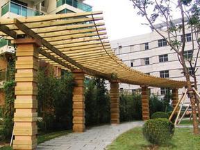 陕西塑木廊架
