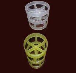 厂家直销PP塑料鲍尔环填料--聚四氧乙烯鲍尔环