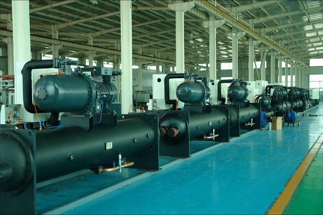 空调系统设计良好的水源热泵机组可节约用户30-40%的供热制冷空调运行